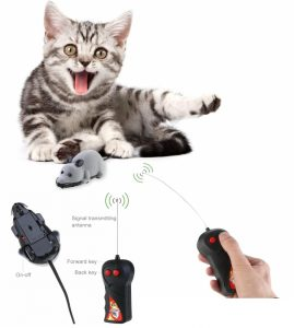 Rosenice Electronic Mouse Cat Toy