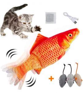 HZONE Electric Flippity Fish Cat Toy