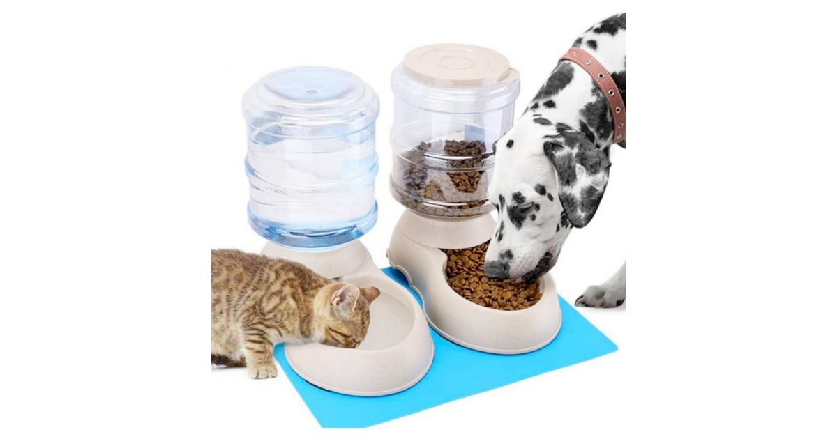 Automatic Cat Feeder and Water Dispenser