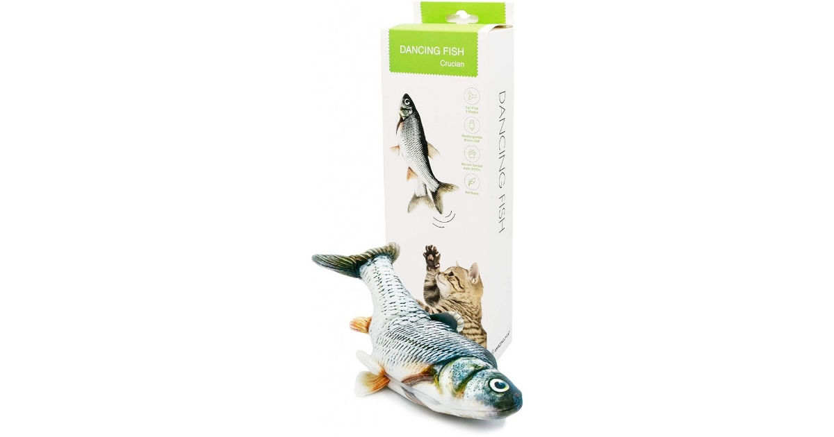 Dancing Fish Cat Toy For Indoor Cats