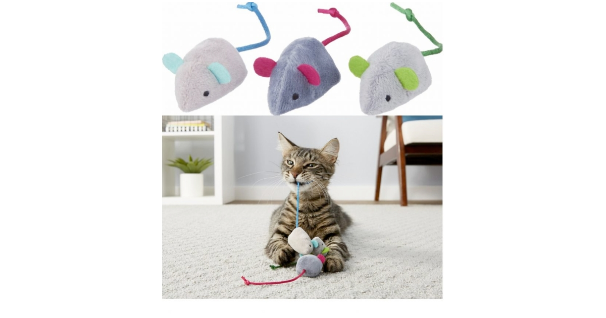 Frisco-Basic-Plush-Mice-Cat-Toy-With-Catnip