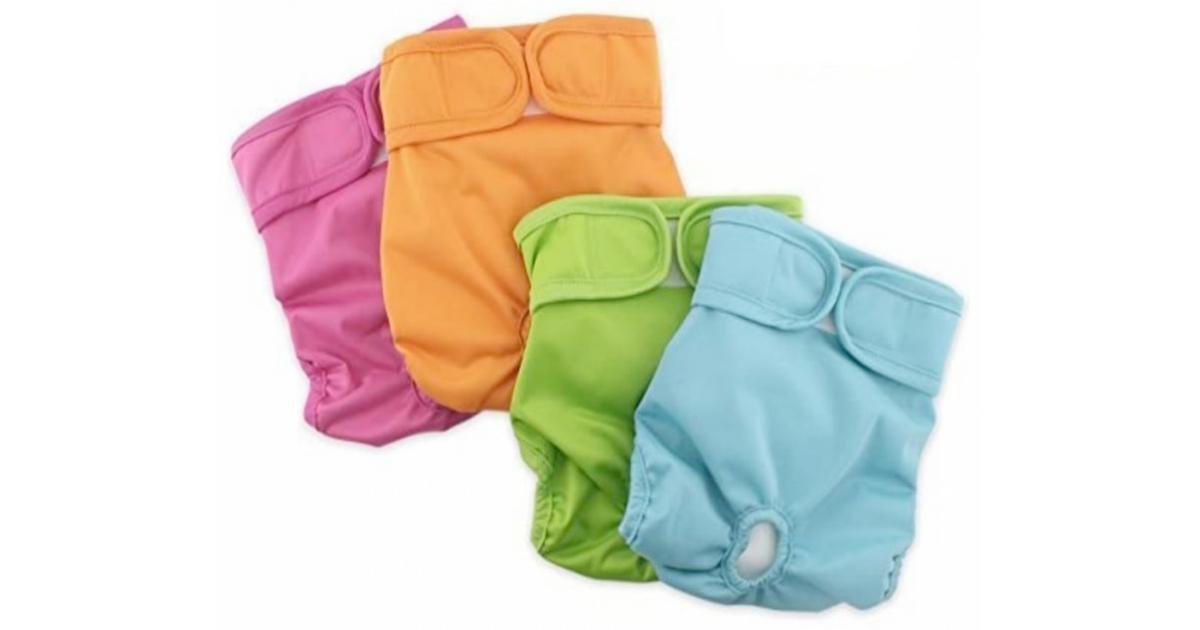Grand Line Reusable Washable Feline Diapers