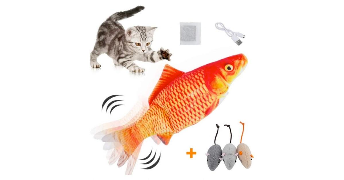 HZONE Electric Flippity Fish Cat ToyHZONE Electric Flippity Fish Cat Toy
