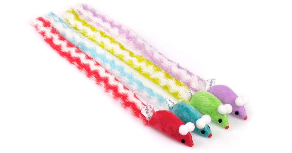 chiwava soft plush mouse cat toy